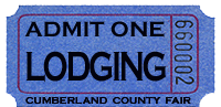 Lodging Available in Cumberland County